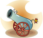 Funny cannon Stock Photo