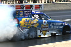 Funny Car Burnout royalty free stock photo