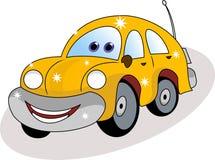 Funny car cartoon Royalty Free Stock Photos