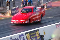 Funny Car Drag Race Royalty Free Stock Photos