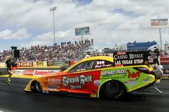 Funny Car Eliminations at the Strip In Las Vegas Royalty Free Stock Image