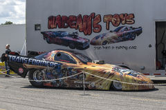 Funny car Stock Image