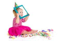 Funny carnival kid Stock Image