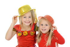 Funny carnival kids Stock Photography