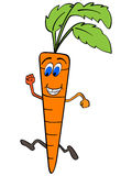 Funny carrot Royalty Free Stock Photo