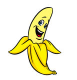 Funny cartoon banana Stock Photo