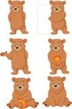 Funny cartoon bear Royalty Free Stock Photos