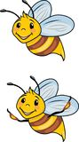 Funny cartoon bee Royalty Free Stock Images