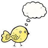 Funny cartoon bird Stock Photography