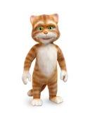 Funny cartoon cat Royalty Free Stock Image