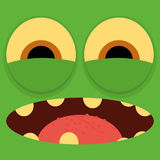 Funny Cartoon Character Face Illustration Editable Royalty Free Stock Photos