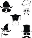 Funny Cartoon Character  Vector. Funny Cartoon template Character Vector Royalty Free Stock Photo