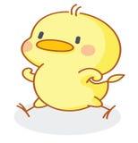 Funny cartoon chicks. New funny cartoon chicks illustration Stock Photo