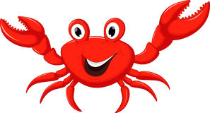 Free Funny Cartoon Crab Stock Photography - 67975122