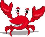 A funny cartoon crabs Royalty Free Stock Photo