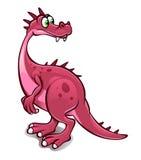 Funny cartoon dinosaur Royalty Free Stock Photo