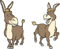 Funny cartoon donkey Royalty Free Stock Photo