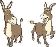 Funny cartoon donkey Royalty Free Stock Photo