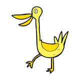 Funny cartoon duck Royalty Free Stock Image
