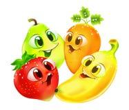 Funny cartoon fruit Stock Photo