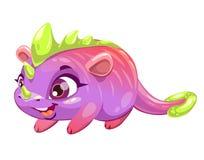Funny cartoon funny fantasy animal. Royalty Free Stock Photo
