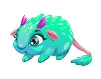 Funny cartoon funny fantasy animal. Stock Photography