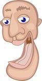 Funny Cartoon Laughing Face Stock Photos