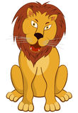 Funny Cartoon Lion Stock Images