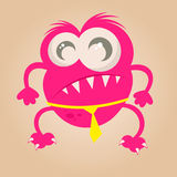 Funny cartoon monster Stock Images