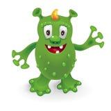 Funny cartoon monster. Vector illustration vector illustration