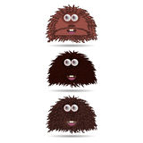 Funny cartoon monster Royalty Free Stock Photo
