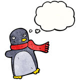 Funny cartoon penguin Royalty Free Stock Photo