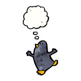 Funny cartoon penguin Royalty Free Stock Photography