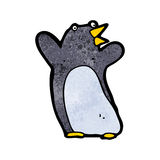 Funny cartoon penguin Royalty Free Stock Photos