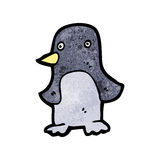 Funny cartoon penguin Stock Photography