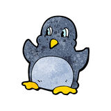 Funny cartoon penguin Royalty Free Stock Images