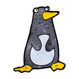 Funny cartoon penguin Stock Photo