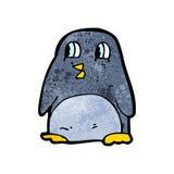 Funny cartoon penguin Stock Photo