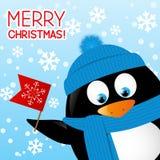 Funny cartoon penguin Royalty Free Stock Photos