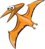 Funny cartoon pterodactyl Royalty Free Stock Image