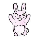 Funny cartoon rabbit Stock Photo