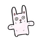 Funny cartoon rabbit Royalty Free Stock Image