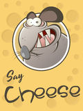 Funny cartoon rat Royalty Free Stock Images