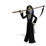 Funny cartoon reaper Stock Photos