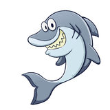 Funny Cartoon Shark Royalty Free Stock Image