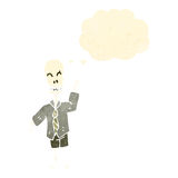 funny cartoon skeleton Stock Photo