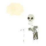 funny cartoon skeleton Royalty Free Stock Photography