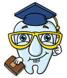 Funny cartoon tooth Royalty Free Stock Images