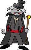 Funny cartoon vampire Royalty Free Stock Photos