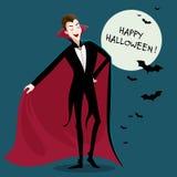 Funny Cartoon Vampire Royalty Free Stock Image